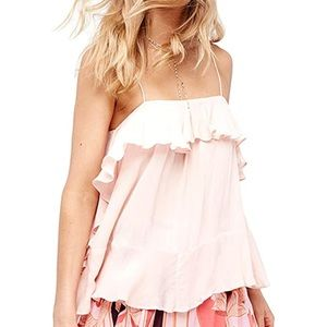 Intimately Free People Cascades Cami in light pink